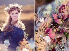 Wild Scotland - a bridal editorial shoot by Craig and Eva Sanders.