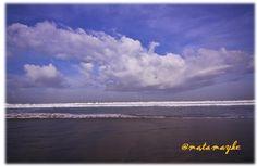 lovely sky, legian beach, bali, indonesia