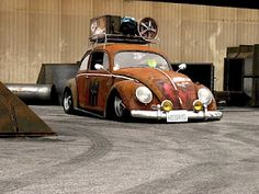 Vw rat look low rusty
