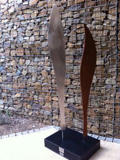 Brushed stainless steel and Rusted Steel. Mark L Swart. Brushed Stainless Steel, Sculptures, Artist, Inspiration, Design, Corten Steel, Biblical Inspiration, Artists