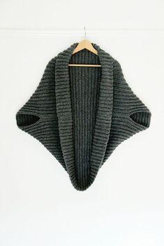 Crochet simple Cardigan // proyecto perfecto para principiantes (patrón libre)
