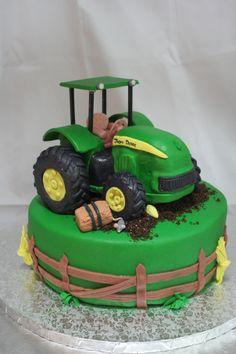 John Deere Cake, Jack's birthday for sure!!