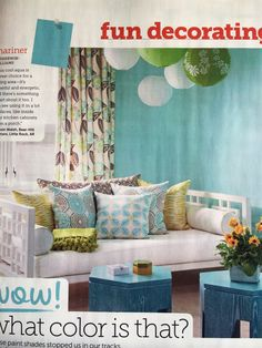 Mariner by Sherwin Williams, HGTV Magazine