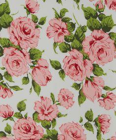 Carline Print Belgravia Silk Satin | Liberty Art Fabrics