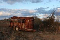 Old Horse Trailer   Flickr - Photo Sharing!