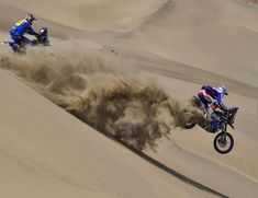 """From Vroom Mag... Dakar 2018 Stage 5 report: """"Struggling Through Quicksand"""""""