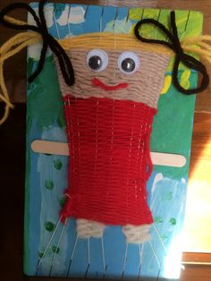 grade 6 weeks completion time @ 50 min per week – Artofit Weaving For Kids, Weaving Art, Weaving Patterns, Crafts To Make, Crafts For Kids, Arts And Crafts, Loom Yarn, Advent Calendars For Kids, 4th Grade Art