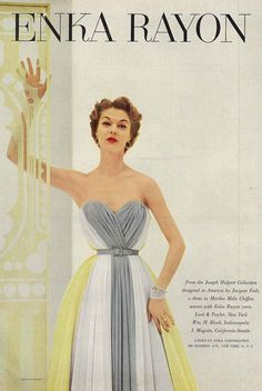 April Vogue 1952 they say girls are too thin now... look the same to me...but maybe thinner!!!!