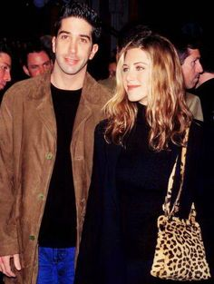 David Schwimmer & Jennifer Aniston