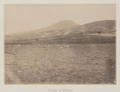 Vue de la plaine de Cléones © Musée Guimet, Paris, Distr. Rmn / Image Guimet Art Asiatique, Monument Valley, Images, Photos, Album, Paris, Nature, Travel, 19th Century