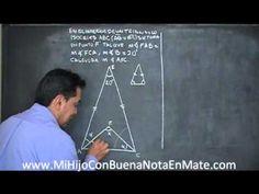 El trangulo isosceles - YouTube Triangulo Isosceles, Youtube, Exercises, Youtubers, Youtube Movies