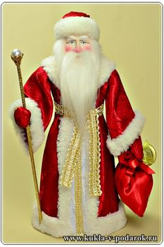 Good gift doll Santa Claus Red Nose