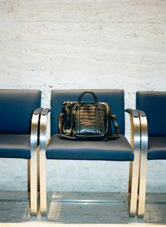 Sofia Coppola's alligator Vuitton bag