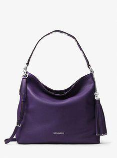86e1229f810d Michael Kors Brooklyn Large Leather Shoulder Bag  WomensShoulderbags
