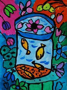 Matisse Fish Bowl - 3rd Grade