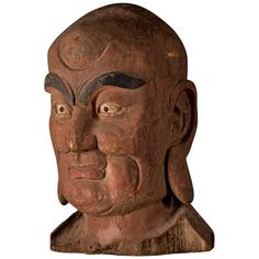 "Chinese Lohan | Lohan"" Head, China 1700-1800s at 1stdibs"