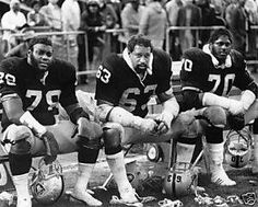 "Art Shell, Gene Upshaw & Henry Lawrence. .. Old School Raiders.....""06!"
