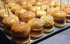 Mes minis burgers