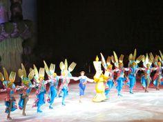 Princesses and Heroes On Ice   ... whole lotta skating cutlery. Disney on Ice! Princesses and Heroes