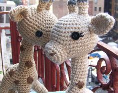 Crochet Pattern Baby Giraffe-Small Toy Crochet Pattern-Toy Giraffe-Amigurumi Giraffe-DIY Crochet Toy-Stuffed Toy Animal-Crochet Giraffe