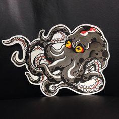 No automatic image annotation . - Octopus - : No automatic image annotation . Octopus Tattoo Design, Octopus Tattoos, Dibujos Tattoo, Desenho Tattoo, Japanese Tattoo Art, Japanese Tattoo Designs, Time Tattoos, Body Art Tattoos, Tatoos