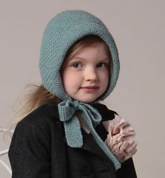 Modèle bonnet béguin rétro enfant