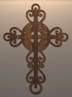 Free Scroll Saw Patterns by Arpop: Religious Scroll Saw Patterns Free, Scroll Pattern, Cross Patterns, Wood Patterns, Applique Patterns, San Damian, Intarsia Wood, Sign Of The Cross, Wood Crosses