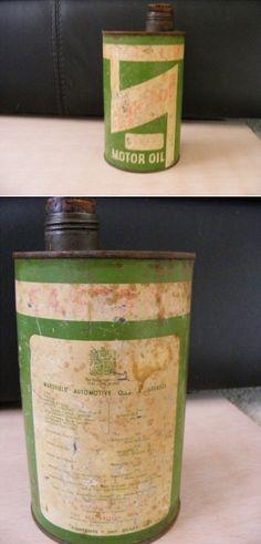 Castrol Motor Oil can