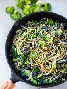 Garlicky Cruciferous Pasta