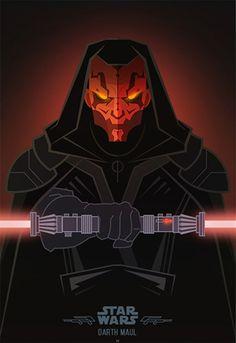 Star Wars : hommage aux plus grands méchants de la saga - Dark Maul