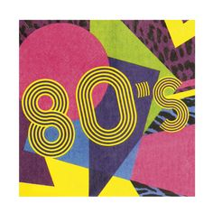 80-luvun bileet, lautasliinat