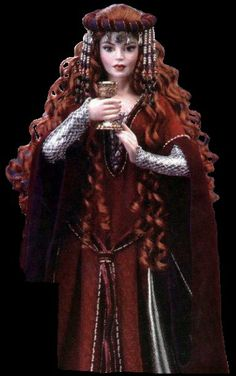 franklin mint doll Morgan Le Fay I have this beauty