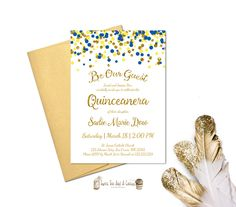 Beauty And The Beast Invites Quinces