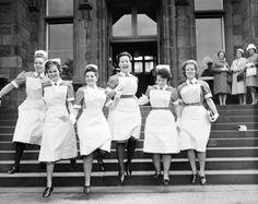 Royal Infirmary nurses 1963