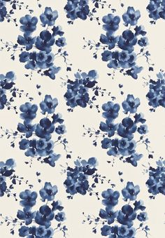 Floral is blooming this summer! Floral is on every dress, top, shorts and more. If you want to keep up with the latest, there is no way you can go wrong with these designs🌸🌺🌼🌻 Mandarin Flowers - Sanderson Fabric Motifs Textiles, Textile Patterns, Pretty Patterns, Flower Patterns, Pattern Flower, Pattern Art, Pattern Design, Surface Pattern, Iphone 6