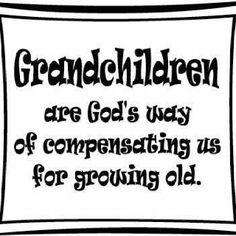 Grandchildren  Grandpa!!!!!!!!!