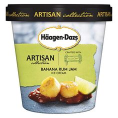 Haagen-Dazs teamed up with the owners of The Jam Stand to create this delightful flavor for their Artisan collection.