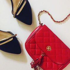 Fratelli Rossetti red quilted cross body Gorgeous leather from Milano this is a Italian designer quilted red crossbody with a tassel and lion icon closure. The leathe feels like silk. Stunning bag retails around $750 Fratelli Rossetti Bags Crossbody Bags