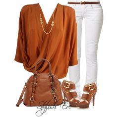 """Noha"" by stylisheve on Polyvore... where do I go to try on outfits like this!?... love the look!"