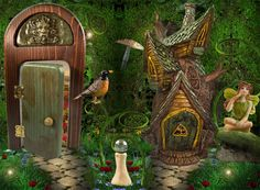 Enchanted Garden - cool website, and reasonably priced minis for terrariums