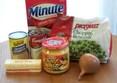 Broccoli & Cheese Casserole THIS IS THE ORIGINAL RECIPE FROM THE 70'S...USES CHEESE WHIZ