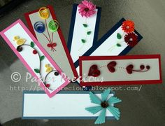 Items similar to Quilled Bookmarks on Etsy Paper Quilling Flowers, Paper Quilling Cards, Paper Quilling Designs, Quilling Patterns, Quilling Jewelry, Quilling Paper Craft, Paper Crafts, Creative Bookmarks, Beaded Bookmarks