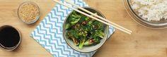 Simple Sesame Garlic Broccoli