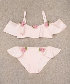 Another great find on #zulily! Blush Athena Bikini - Toddler & Girls #zulilyfinds