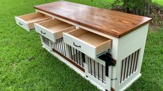 Our double dog kennel entertainment center is perfect for your home A beautiful. Our double dog kennel entertainment center is perfect for your home A beautiful and functional pie