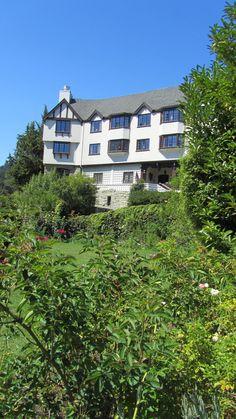 Benbow Inn and RV Resort, Garberville, California, in the redwoods.