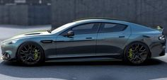 Aston Martin Rapide AMR gaat 's werelds snelste sedan worden - Manners Magazine