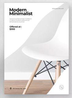 Furniture Flyer by Justicon on Envato Elements Shop Interior Design, Ad Design, Flyer Design, Layout Design, Furniture Ads, Furniture Catalog, Furniture Design, Furniture Shopping, Graphic Design Brochure