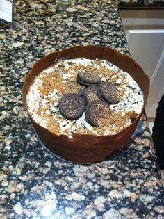 Home made Cookies n Cream Ice-Cream #Cake #Delicious #Oreos #DaysSpentInTheKitchen