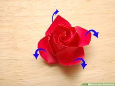 Image titled Fold a Paper Rose Step 41